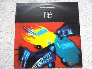 NITZER EBB - BIG HIT -  (1995) STUM118 - MATRIX  A2 B1 VINYL LP (TESTED EX+)
