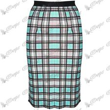 Calf Length Viscose Unbranded Plus Size Skirts for Women
