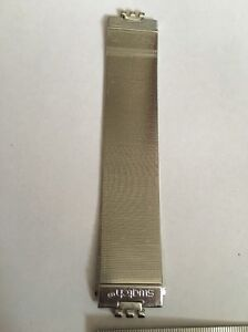 008 Swatch 12mm Ladies Small watch strap Steel Milanese 'passion D'une Nuit' Sm
