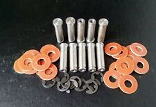 TATTOO MACHINE COIL CORES 10 X 32MM M4 THREAD TURNED FROM 1018 STEEL