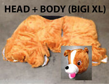 BIGI XL PLUSH FUR (BODY + HEAD) COMBO - 9 styles available