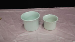 PORCELAIN CUPS SET OF TWO