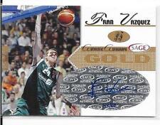 2005 Sage - FRAN VAZQUEZ - Gold Autograph Rookie - UNICAJA  #d 44/60