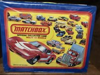 MATCHBOX LESNEY SUPERFAST 1980 COLLECTOR CASE & 28 Cars Hot Wheels Corgi Tomica