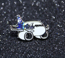 Pin CHUBBY pudgy ALASKA Airlines Boeing B737 1 inch / 27mm metal Pin
