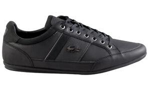 LACOSTE CHAYMON 118 1 CAM BLK/DK GRY  Herren EXCLUSVIE Sneaker LEDER Schuhe