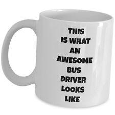 Funny Coffee Mug For Bus Driver Gag Appreciation Thank You Gift Ceramic Tea Cup