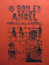 MIKE DIANA'S  BOILED ANGEL S/S RED T-SHIRT SIZE LARGE   RARE!