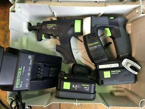 FESTOOL DWC18-4500 AUTO FEED CORDLESS SCREW GUN , 18 VOLT CORDLESS