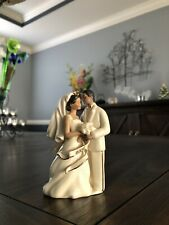 Lenox African American Bride & Groom Ornament 2004
