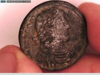 ROMAN ANCIENT COIN JOVIAN BRONZE LARGE AE 27 mm VICTORY 363 - 364 AD ANTIOCH RR