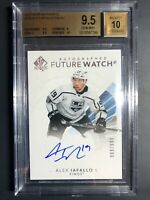 2017-18 SP Authentic Alex Iafallo Future Watch Auto Rookie /999 BGS 9.5