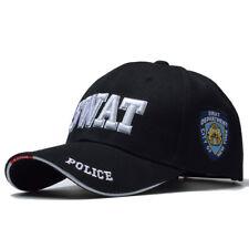 Tactical Cap Mens Womens Baseball SWAT Hat Snapback Cotton Adjustable Flat Caps