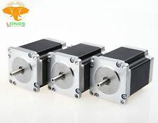 US FREE!Stepper Motor 3PCS NEMA23 270 oz-in 3.0A 23HS8430 57BYGH CNC Mill Cut