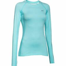 NEW Under Armour Women's ColdGear Cozy Crew 1248568-440 SIZE LARGE