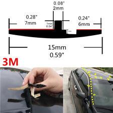 Neu 3m Gummidichtung Auto Schiebedachdichtung Windschutzscheibe Regen Dachleiste