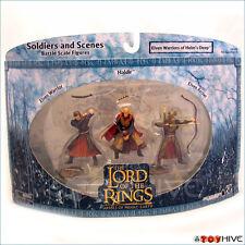 LOTR AOME Elven Warriors of Helm's Deep 3 soilders set