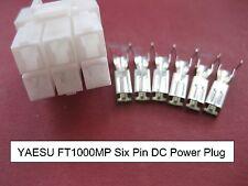 Yaesu FT1000MP MARK 5 MKV sei pin 6-PIN 12V 12 Volt DC Spina di Alimentazione FP-29