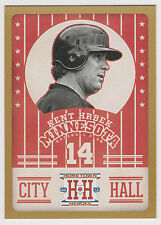 KENT HRBEK 2013 Panini Hometown Heroes Baseball City Hall Gold Card #CH1 Twins