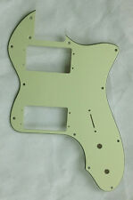 For Classic telecaster 72 thinline Tele Guitar Pickguard , 3 Ply Mint Green