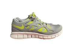 Nike Free Run 2 NSW Men's 540244-031 Wolf Grey Venom Green Rare
