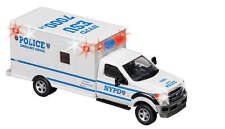 NYPD New York Police Department 1:43 Scale Ambulance Diecast with Lights NY71599