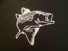 BASS striper striped bass decal sticker BOATING DEEP SEA fishing penn FISH