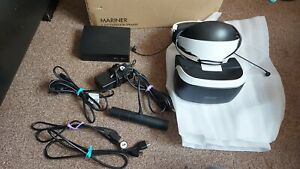 Sony PlayStation PS VR Headset Camera Box V2 Bundle Inc All Wires VGC