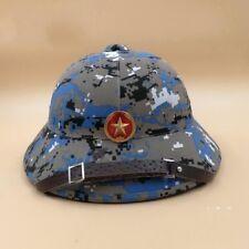 VIETNAM WAR HAT NVA VIETCONG VC PITH HELMET JUNGLE EXPLORER CAMOUFLAGE CAP-31528