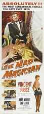 Mad magicien Poster 01 métal signe A4 12x8 aluminium