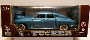Road Legends 1948 Tucker 1:18 Scale Diecast Car Blue