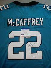 CAROLINA PANTHERS- CHRISTIAN McCAFFREY AUTOGRAPH NFL PLAYERS JERSEY PSA/DNA