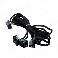 6Meters Car Head Unit ISO Audio Wire Wiring Harness Power Connector For BMW E39