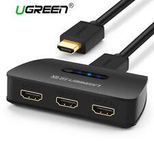 UGREEN 3 Port HDMI Switch Switcher Selector Splitter for XBOX HDTV PS3 DVD 1080P