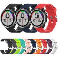 Für Garmin Forerunner 645 GPS Uhr Sports 20mm Silikon Armband Uhrenarmbänder