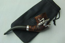 *****Unique***** Collectable Dunhill London # 4114 Dress Silver Dragon Pipe