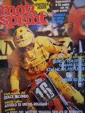 Motosprint 16 1982 Test Benelli 654 Sport - Yamha 650 XJ - KTM MC 495  [SC.31]