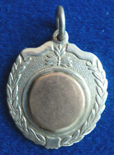Irish Stg. Silver & Gold Celtic Medal / Watch Fob - 1959 Dublin - not engraved