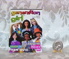 1998 BARBIE GENERATION GIRL DOLL FASHION BOOKLET BOOK MINI CLOTHES CATALOGUE #2