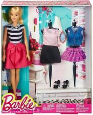 Barbie® Blonde Doll in B&W & Pink with Accessories [FASION GIFT SET] **CML80