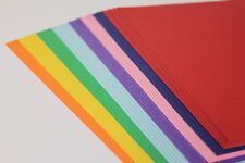 A4 220gsm ASSORTED COLOURED CRAFT CARD. 40 PRINTABLE SMOOTH SHEETS. LEONARDO.