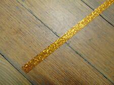 """New Delmar Gold Sparkle Bass Drum Hoop Inlay,1/2"""""""