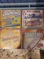 FESTIVAL DI SANREMO - QUATTRO CD -. NUOVI SIGILLATI - VEDI DESCRIZIONE