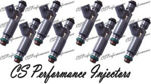 2% Dynamic Flow Match - OEM Denso Fuel Injectors Set (8) 12582704