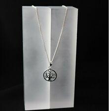 Halskette Lebensbaum Anhänger 925 Sterling Silber Baum des Lebens Tree of Life