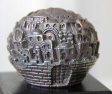 """Jerusalem Rose"" Jerusalem 3000 by Sam Philipe Silver 925 Decorative Sculpture"