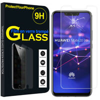 Vitre De Protection Transparent Écran Film Verre Trempe Model Huawei
