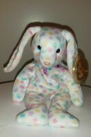Ty Beanie Baby - SPRINGFIELD the Bunny Rabbit - MINT with MINT TAGS