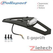 Polisport Schutzblech mit Kennzichenhalter LED hinten schwarz 8569500001