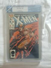 X-Men #212- PGX 9.0 - WOLVERINE VS. SABRETOOTH 1st round